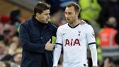 Christian Eriksen và Mauricio Pochettino là 2 nhân tố quan trọng nhất của giai đoạn 5 năm thành công vừa qua của Tottenham. Ảnh: Getty Images