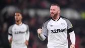Wayne Rooney hy vọng sẽ truyền cảm hứng giúp Derby County có cơ hội giáp mặt Man.United. Ảnh: Getty Images