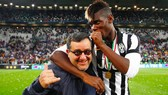 Paul Pogba và người đại diện Mino Raiola khi còn tận hưởng thành công ở Juve.