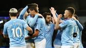Cầu thủ Man.City vẫn tập trung vào mục tiêu chiến thắng. Ảnh: Getty Images