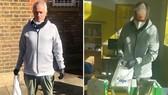 HLV Jose Mourinho làm công tác thiện nguyện. Ảnh: The Sun