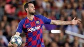 Tiền vệ Sergio Busquets tin rằng mùa giải khó có thể được nối lại. Ảnh: Getty Images