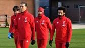 Cầu thủ Liverpool đã trở lại sân tập để sẵn sàng cho ngày đăng quang.
