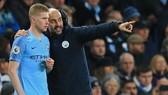 Tương lai của tiền vệ Kevin de Bruyne hay cả HLV Pep Guardiola sẽ phụ thuộc vào phiên xử tới. Ảnh: Getty Images