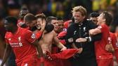 HLV Jurgen Klopp muốn trước mắt cùng học trò thắng chức vô địch. Ảnh: Getty Images