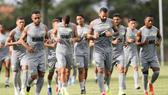 Đội hình Vasco da Gama vừa trở lại tập luyện. Ảnh: Getty Images