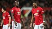 Paul Pogba và Marcus Rashford trở lại sẽ nâng chất lượng của Man.United lên rất cao. Ảnh: Getty Images