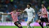 Marcelo kịp hồi phục cho trận lượt về vòng 1/8 Champions League tại Man.City. Ảnh: Getty Images