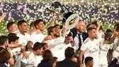 Real Madrid đã giành chức vô địch La Liga lần đầu tiên sau 3 năm. Ảnh: Getty Images