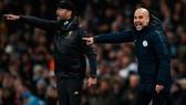 HLV Pep Guardiola và Man.City hoàn toàn bất lực trước sức mạnh của Liverpool mùa này. Ảnh: Getty Images