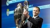 Chủ tịch UEFA, Aleksander Ceferin vừa xác nhận kế hoạch tri ân tại các cúp châu Âu. Ảnh: Getty Images