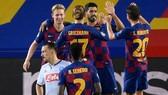Barcelona mạnh mẽ vào tứ kết đối đầu Bayern Munich. Ảnh: Getty Images