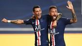 Angel Di Maria và Neymar là những người hùng trong chiến công này. Ảnh: Getty Images
