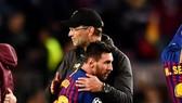 HLV Jurgen Klopp chia sẻ nỗi thất vọng của Lionel Messi khi Barcelona bị Liverpool loại khỏi Champions League cách đây 2 năm. Ảnh: Getty Images