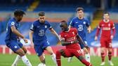 Sadio Mane xuất sắc đã khuất phục năng lực phòng ngự của Chelsea. Ảnh: Getty Images