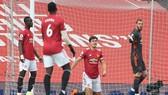 Man.United sụp đổ trước Tottenham ngay trên sân nhà Old Trafford. Ảnh: Getty Images
