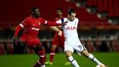 Gareth Bale gây thất vọng trong trận thua của Tottenham. Ảnh: Getty Images