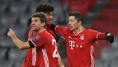 Nhà vô địch Bayern Munich vẫn đang tỏ rõ quá mạnh. Ảnh: Getty Images