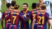 Không phải đồng đội nào cũng bắt kịp đẳng cấp của Lionel Messi.