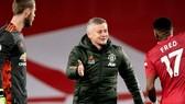 HLV Ole Gunnar Solskjaer vẫn duy trì sự tự tin lớn tại Premier League. Ảnh: Getty Images