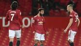 Nỗ lực ghi bàn của Bruno Fernandes và đồng đôi đã uổng phí vì sai lầm trong phòng ngự. Ảnh: Getty Images