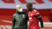 Paul Pogba hy vọng kịp trở lại cho lịch trình quan trọng cuối tháng 2. Ảnh: Getty Images