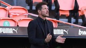 HLV Diego Simeone tỏ ra thận trọng ở giai đoạn lượt về. Ảnh: Getty Images