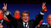 Joan Laporta trở thành Chủ tịch mới của Barca, cũng là nhiệm kỳ thứ 2 lãnh đạo sân Camp Nou.
