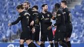 Barca ghi chiến thắng lớn để tiếp tục bám đuổi cuộc đua vô địch. Ảnh: Getty Images