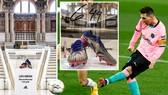 Đôi giầy kỷ lục của Lionel Messi chính thức được rao bán gây quỹ từ thiện.