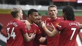 Man.United duy trì mạch thắng và củng cố ngôi nhì bảng. Ảnh: Getty Images