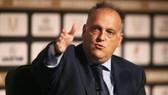 Chủ tịch La Liga, Javier Tebas khẳng định sẽ không có án phạt nào. Ảnh: Getty Images