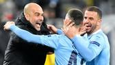 HLV Pep Guardiola vẫn đang khát khao chiến thắng cùng Man.City. Ảnh: Getty Images