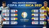 Copa America 2021 tiếp tục có biến động lớn.