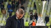 HLV Ole Gunnar Solskjaer chưa thể giành được danh hiệu đầu tiên. Ảnh: Getty Images