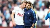 Mauricio Pochettino trở về mới hy vọng thuyết phục Harry Kane ở lại. Ảnh: Getty Images