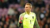 Jasper Cillessen từ lâu là lựa chọn số 1 trong khung thành tuyển Hà Lan. Ảnh: Getty Images
