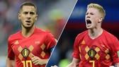 Eden Hazard và Kevin De Bruyne chính là chìa khóa chiến thắng của tuyển Bỉ.