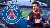 Lionel Messi đang hướng đến sân Công viên các Hoàng tử.
