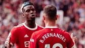 Paul Pogba bùng nổ để hợp cùng Bruno Fernandes giúp hàng công Quỷ đỏ khởi sắc. Ảnh: Getty Images