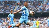 Gabriel Jesus đã có một màn thể hiện khiến HLV Pep Guardiola hài lòng. Ảnh: Getty Images