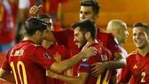 Tây Ban Nha đã có chiến thắng kịp lúc để giải tỏa áp lực. Ảnh: Getty Images
