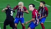 """Tranh biếm họa về việc Benzema bị """"ghẻ lạnh""""."""