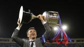 Luis Enrique và danh hiệu chia tay Barca.