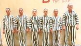 Nhóm đối tượng bị Công an TP Thủ Dầu Một bắt giữ