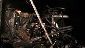 Trước đó, tiệm sơn xe trên đường Lương Hữu Khánh cũng bị thiêu rụi sau hỏa hoạn.