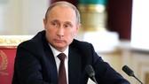 Tổng thống Nga Putin vừa bác bỏ cáo buộc của CIA   Ảnh: TASS