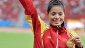 Nguyễn Thị Huyền tiếp tục gây ấn tượng ở sân chơi châu lục. Ảnh: T.L