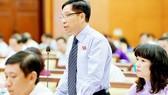 Ông Lê Nguyễn Minh Quang là trường hợp người ngoài Đảng được lãnh đạo TPHCM tin tưởng giao trọng trách Trưởng ban Quản lý đường sắt đô thị TP      Ảnh: VIỆT DŨNG