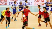 Đội tuyển bóng chuyền nam Việt Nam                 Ảnh: HÀ HƯNG